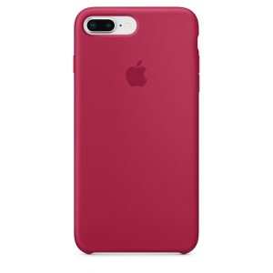 Funda iPhone Rojo Rosa Apple