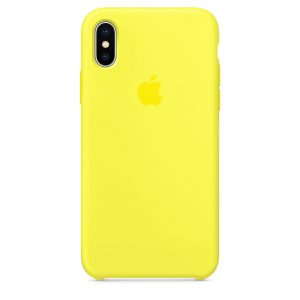 Funda iPhone Amarillo Flash Apple